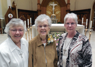 Sister Laurene's 70th Jubilee