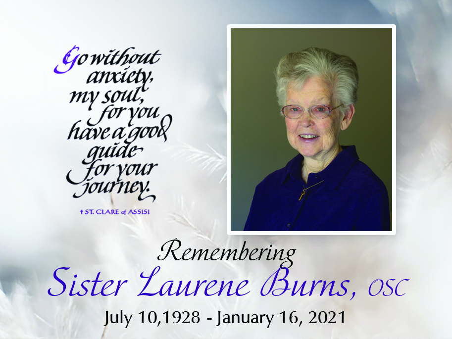 Remembering Sister Laurene
